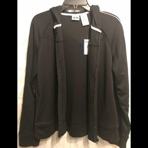 Athletic Works black and white zipper jacket